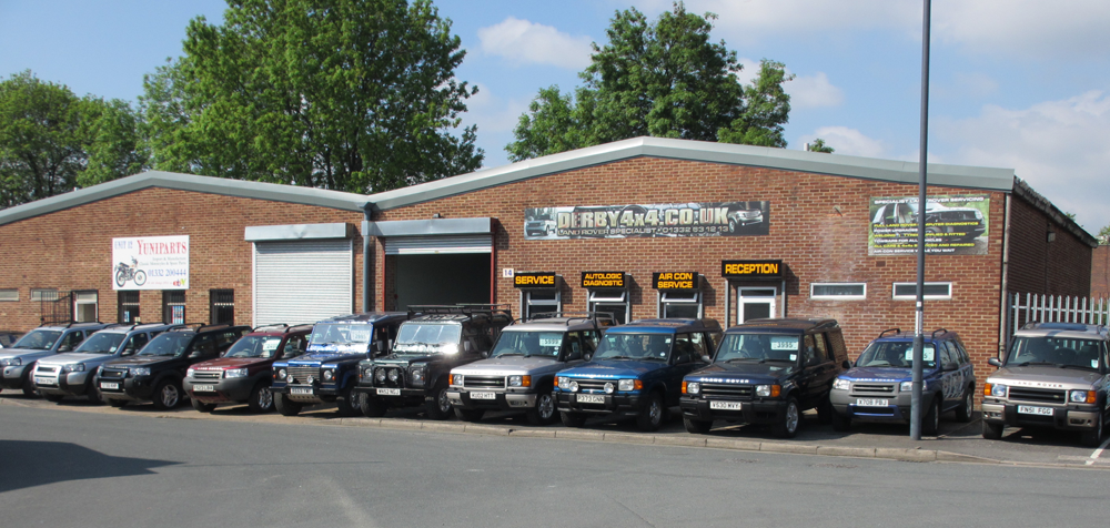 Derby 4x4 and Land Rover repairs and servicing